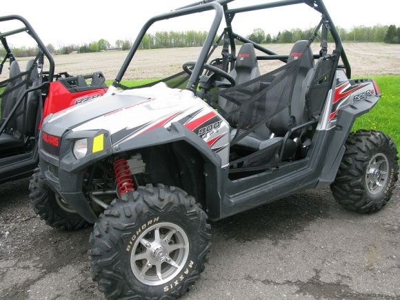 2009 polaris ranger rzr s le turbo silver. Black Bedroom Furniture Sets. Home Design Ideas