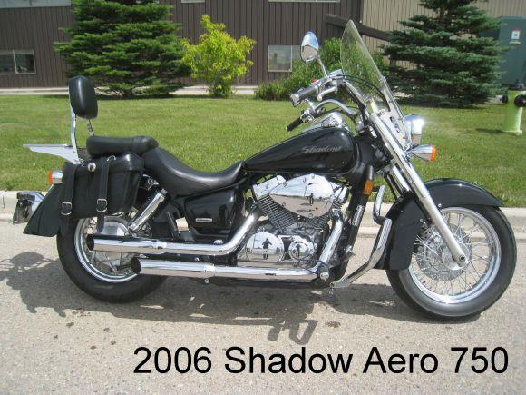 2006 HONDA SHADOW AERO 750