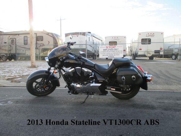 2013 HONDA VT1300CR STATELINE ABS