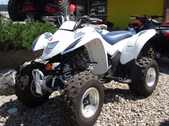 Suzuki Lt Quadsport Start