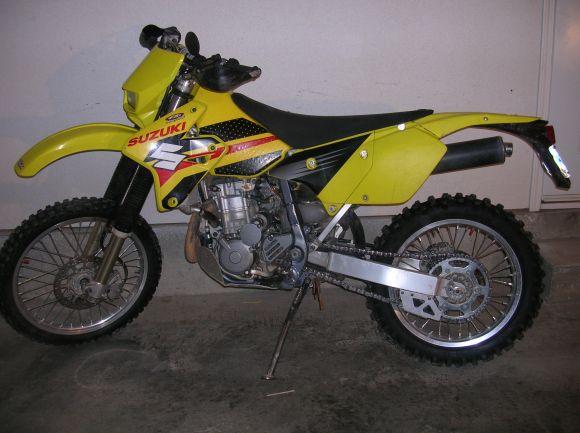 2002 SUZUKI DRZ400E