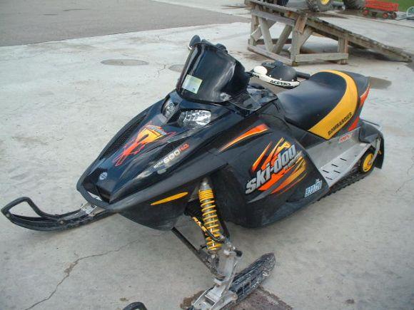 2003 Ski Doo Mxz 600 Sport Rev