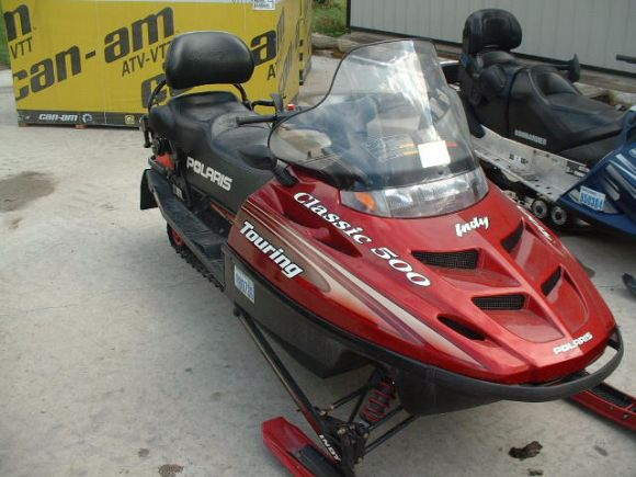 Related Pictures 2000 polaris indy 600 touring snowmobiles