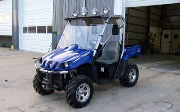 2006 yamaha yxr66fase rhino 660 se for 2006 yamaha grizzly 660 value