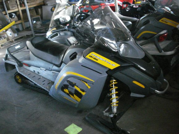 2007 SKI-DOO FREESTYLE BACK COUNTRY 550F (RF) R