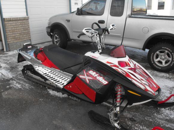 2007 Ski Doo Summit 800 X 151 Amp Rev R