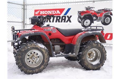1999 HONDA TRX450ES FOREMAN ES 4X4