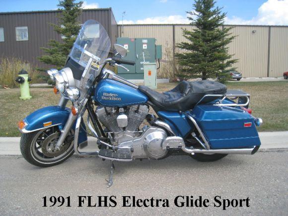 1991 HARLEY DAVIDSON FLHS ELECTRA GLIDE SPORT