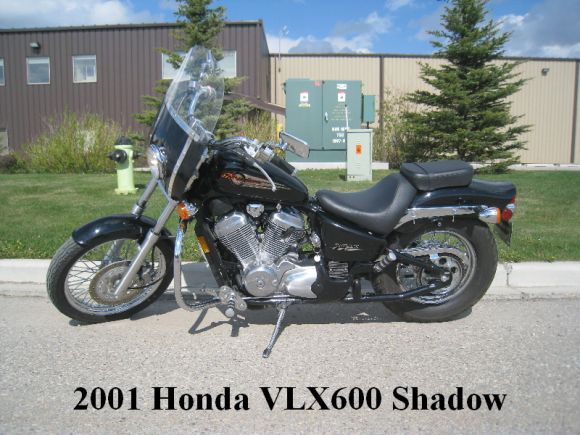 2001 HONDA SHADOW 600