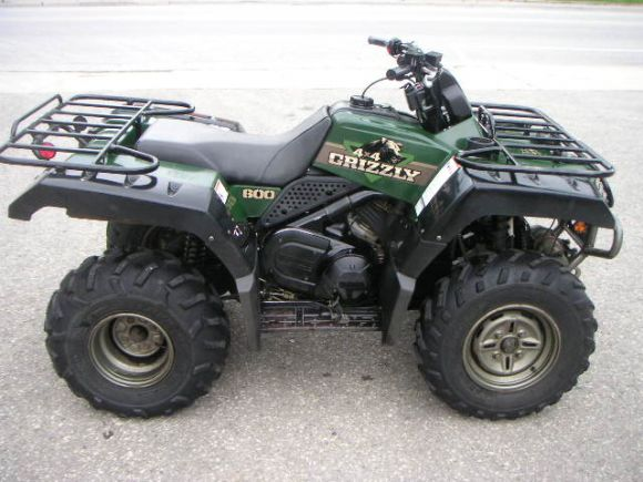 1998 yamaha yfm600f grizzly 600 for Yamaha grizzly 600