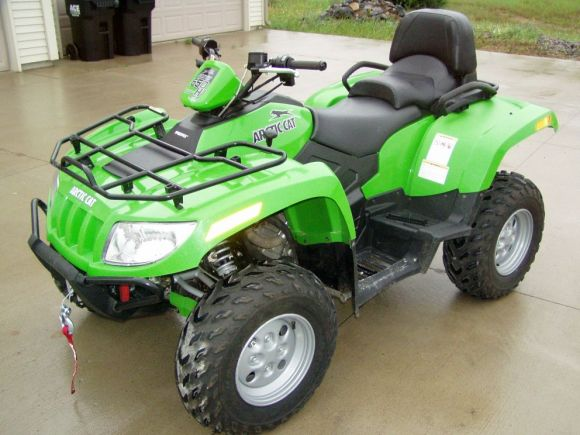 2008 Arctic Cat 650 4x4 H1 Trv Auto Single