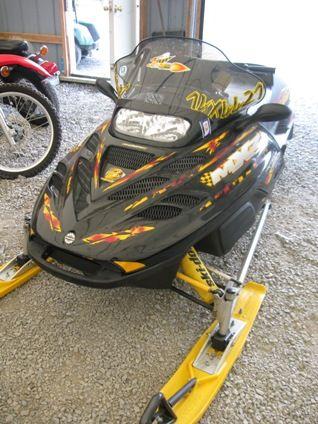 2001 Ski Doo Mxz 500