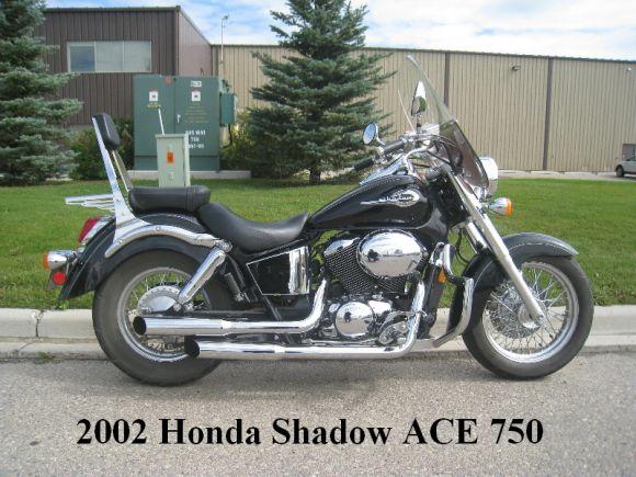 2002 HONDA SHADOW ACE 750