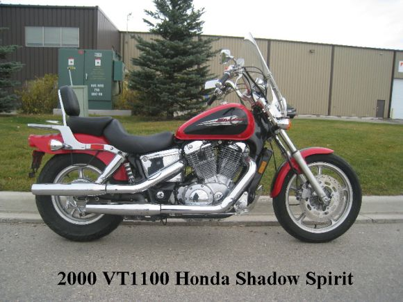 2000 HONDA SHADOW SPIRIT 1100