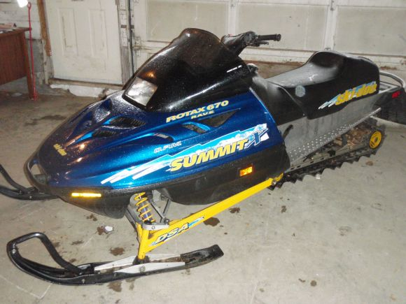 1998 Ski Doo Summit 670