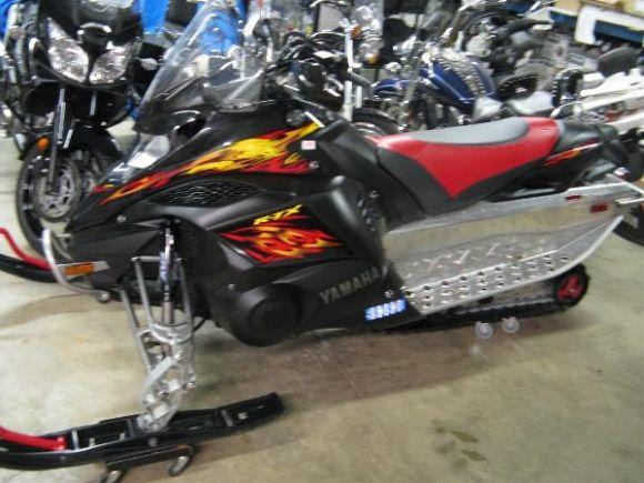2009 Yamaha Fx Nytro Rtx